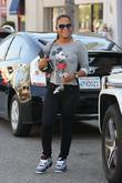 Christina Milian and Mickey Mouse