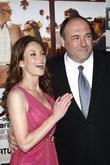 James Gandolfini and Diane Lane
