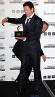 Mel Gibson, Robert Downey Jr and Beverly Hilton Hotel