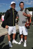 Jeffrey Donovan and Scott Foley