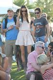 Alessandra Ambrosio Celebrities at the 2011 Coachella Valley...