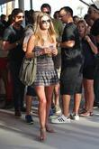 Nicky Hilton Celebrities at the 2011 Coachella Valley...
