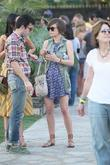 Jessica Stroup Celebrities at the 2011 Coachella Valley...
