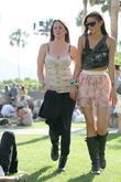 Caroline D'Amore Celebrities at the 2011 Coachella Valley...