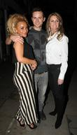Chelsee Healey, Harry Judd and Erin Boag Strictly...