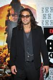 Jason Momoa Conan the Barbarian European premiere held...
