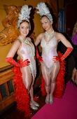 Aoife Ledwith, Emma Powderly  at the VIP...