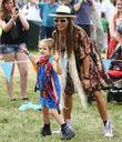Elen Rivas and her daughter Isla The Cornbury...