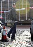 Andrew Lancel,  arrives at the Granada Studios...