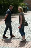 Chris Gascoyne and Jane Danson