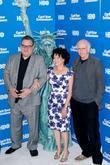 Jeff Garlin, Larry David and Susie Essman
