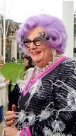 Barry Humphries and Dame Edna Everage