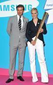 David Beckham and Zara Phillips