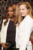 Iman and Petra Nemcova