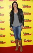Amanda Lamb at the Disney Junior launch party...