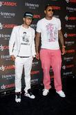 Swizz Beatz and Carmelo Anthony