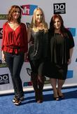 Wendy Wilson, Chynna Phillips and Carnie Wilson of...