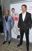 Lewis Hamilton and Jenson Button at the 'Driven...