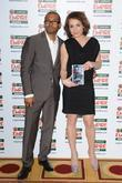 Noel Clarke and Noomi Rapace