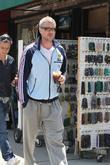 Eric Dane is seen purchasing magazines at a...