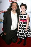 Tom Shadyac with Mia Risiglione 2nd Annual 'Estrellas...