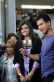Rebecca Black and Mario Lopez seen at The...