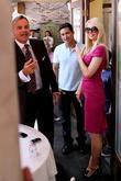 Mario Lopez and Paris Hilton