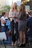 Rebecca Romijn and Maria Menounos