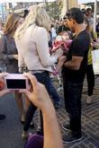Mario Lopez and Rebecca Romijn