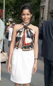 Freida Pinto Ferragamo presentation for their Resort 2012...