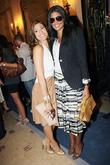 Eva Mendes and Rachel Roy  The Ferragamo...