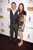 Michael Emerson, Carrie Preston and Times Square