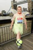 Tony Barrance (Fastest Marathon dribbling a football) Virgin...