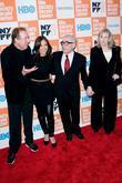 Eric Idle, Martin Scorsese and Olivia Harrison