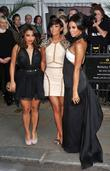 Vanessa White, Frankie Sandford, Rochelle Wiseman, The Saturdays and Berkeley Square Gardens