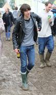 Alex Turner Celebrities at The 2011 Glastonbury Music...