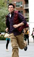 Cory Monteith Cast of 'Glee' is seen filming...