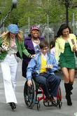 Heather Morris, Amber Riley, Kevin Mchale and Naya Rivera