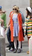Dianna Agron The cast of 'Glee' film on...