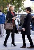 Blake Lively, Penn Badgley 'Gossip Girl' filming on...