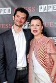 Debi Mazar and husband GUESS and Paper Magazine...