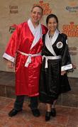 Joey Chestnut and Sonya Thomas