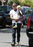 Gavin and Zuma Rossdale  Gwen Stefani and...
