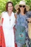 Patricia Arquette and Donna Karan