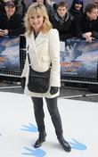 Anthea Turner  'Happy Feet Two' European premiere...