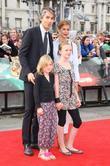 George Lamb, Daniel Radcliffe and Emma Watson