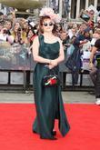 Helena Bonham Carter, Daniel Radcliffe and Emma Watson