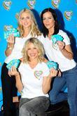 Donna Air, Kate Lawler and Melinda Messenger