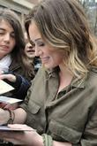 Hilary Duff at NRJ radio Paris, France