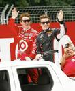 Scott Dixon and Mike Conway  Honda Indy...